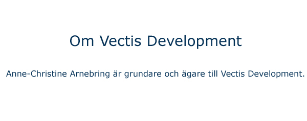 Vectis Development